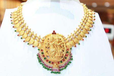 Radha Krishna antique necklace.